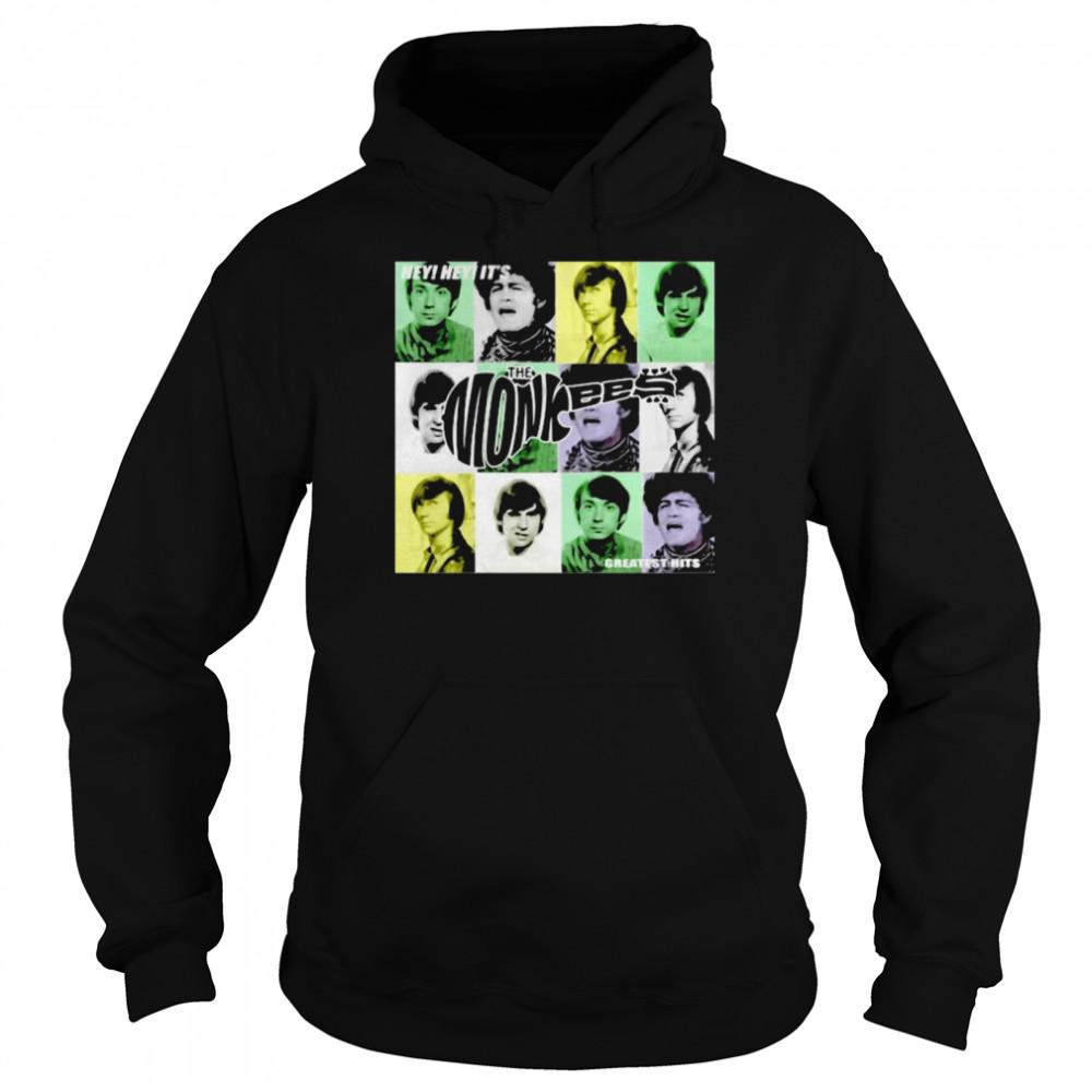 Hey Greatest Hits The Monkees  Unisex Hoodie