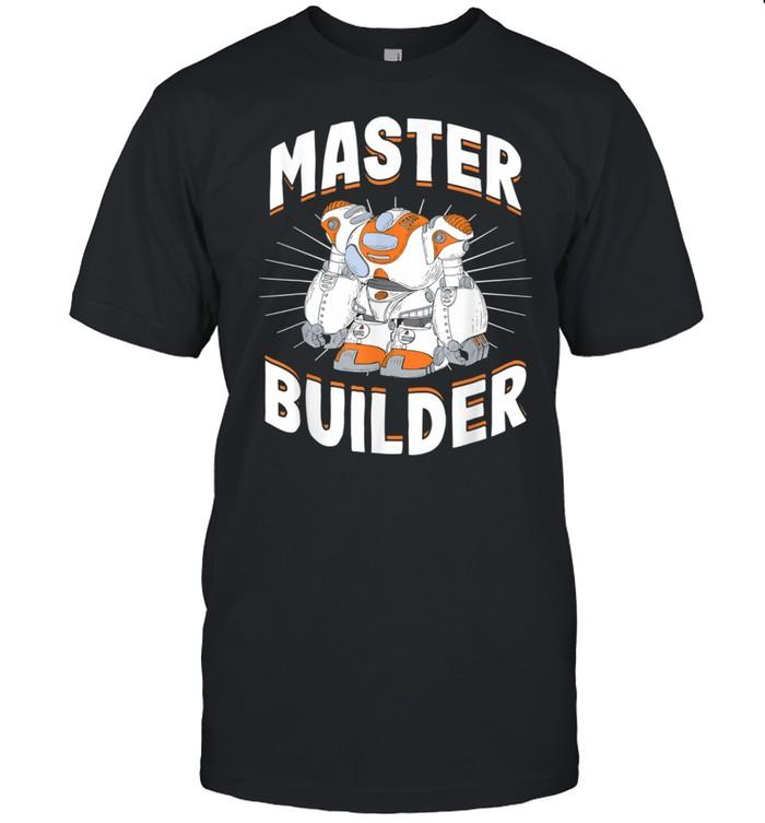 Master Builder Robot Builder Robotics  Classic Men's T-shirt