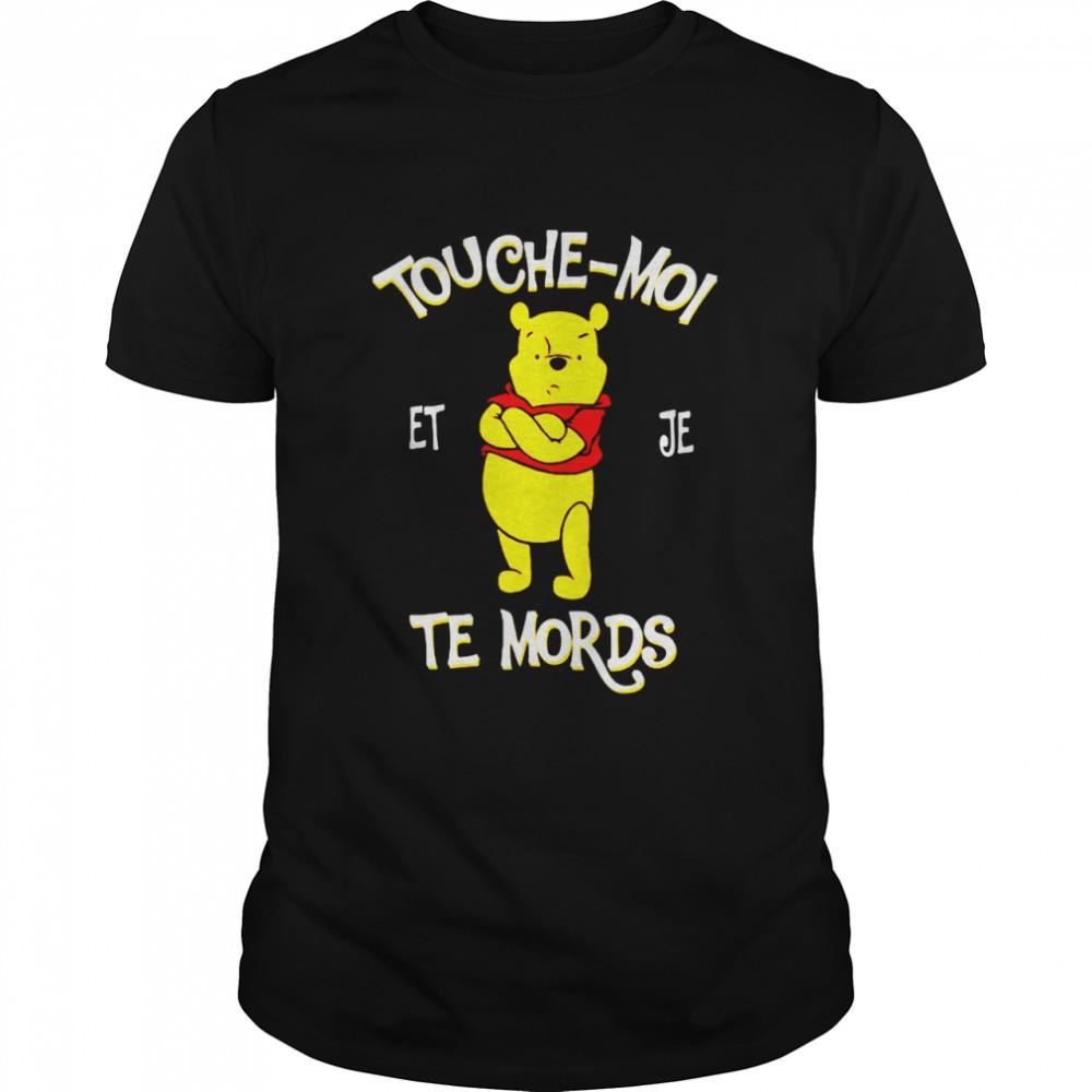 Touche Moi Je Te Mords Pooh  Classic Men's T-shirt