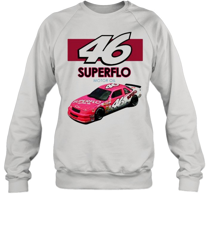 46 Superflo Motor Oil Car Pink  Unisex Sweatshirt