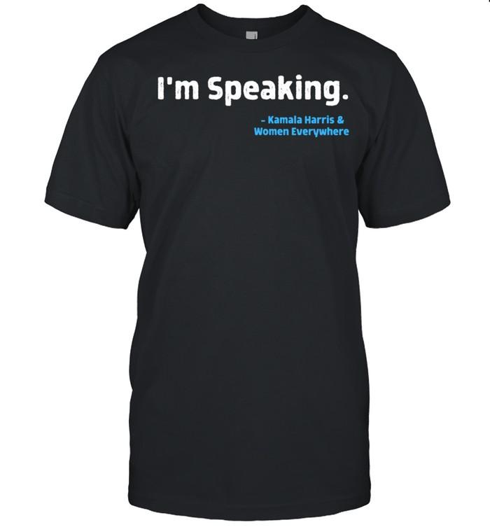 I'm Speaking Kamala Harris 2020 AKA Soror Melanin HBCU shirt Classic Men's T-shirt
