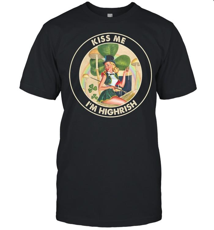 Irish Dancing Kiss Me I'm Highrish st patrick shirt Classic Men's T-shirt