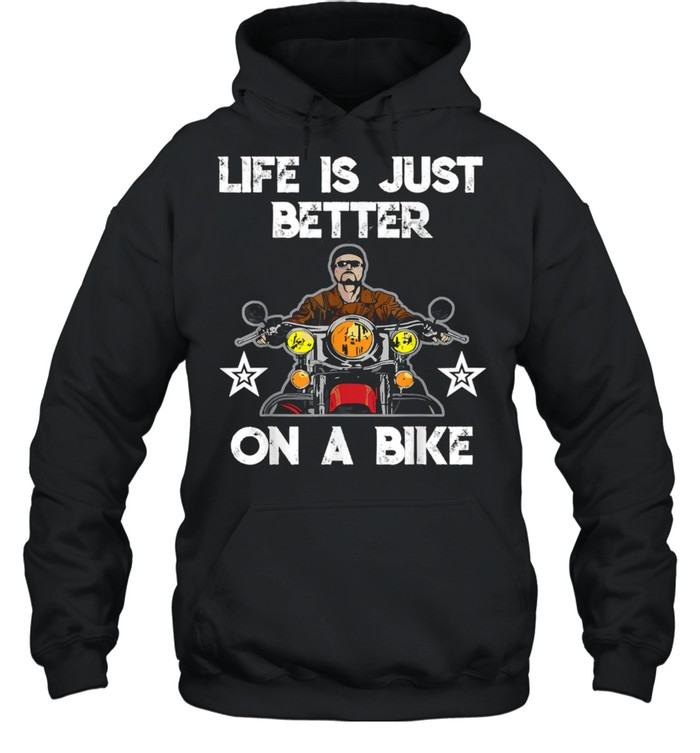 Motorcycle  life is just better on a bike  Unisex Hoodie