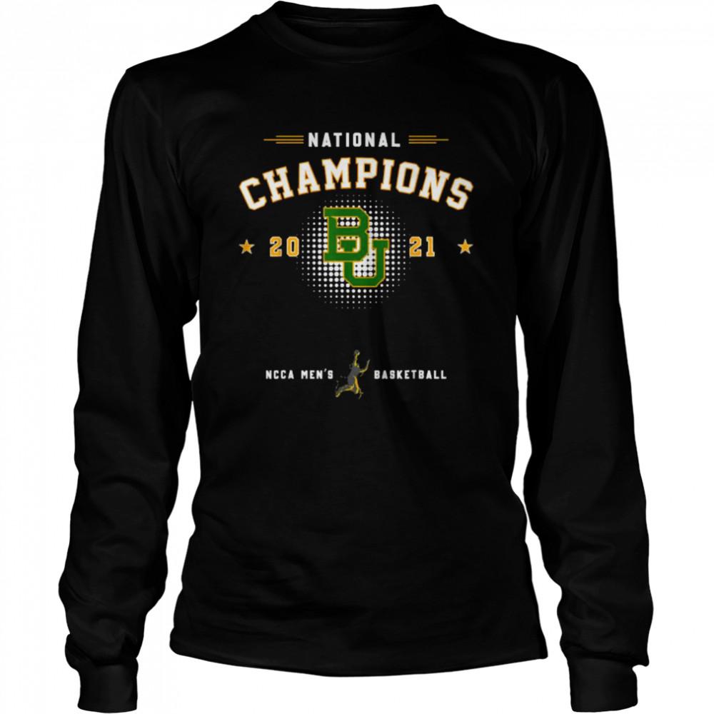 National champions 2021 Baylor Basketball  Long Sleeved T-shirt
