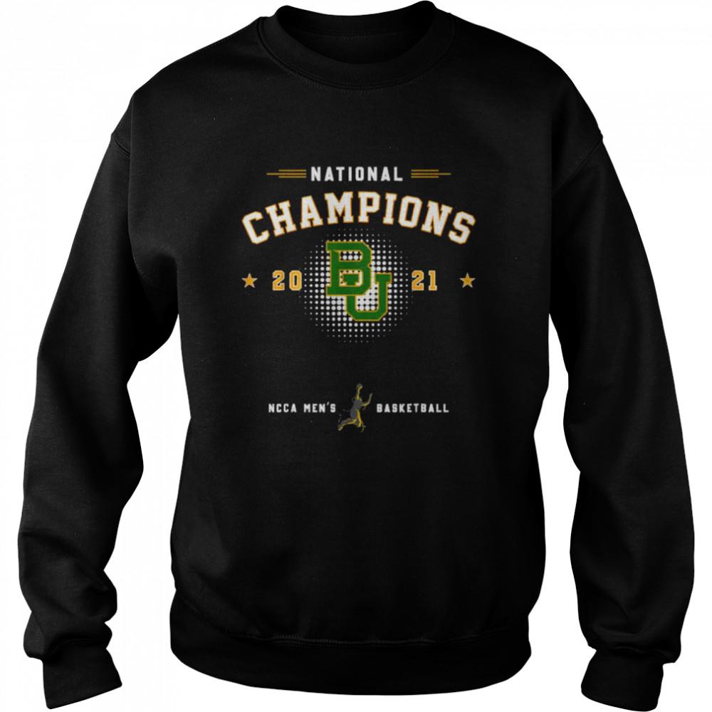 National champions 2021 Baylor Basketball  Unisex Sweatshirt