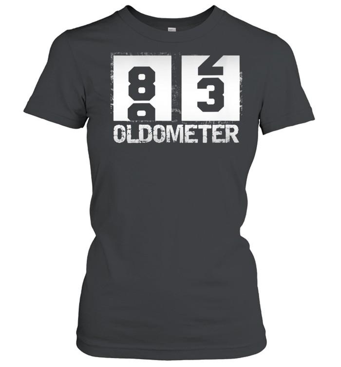 Oldometer 8283 83rd Birthday  Classic Women's T-shirt