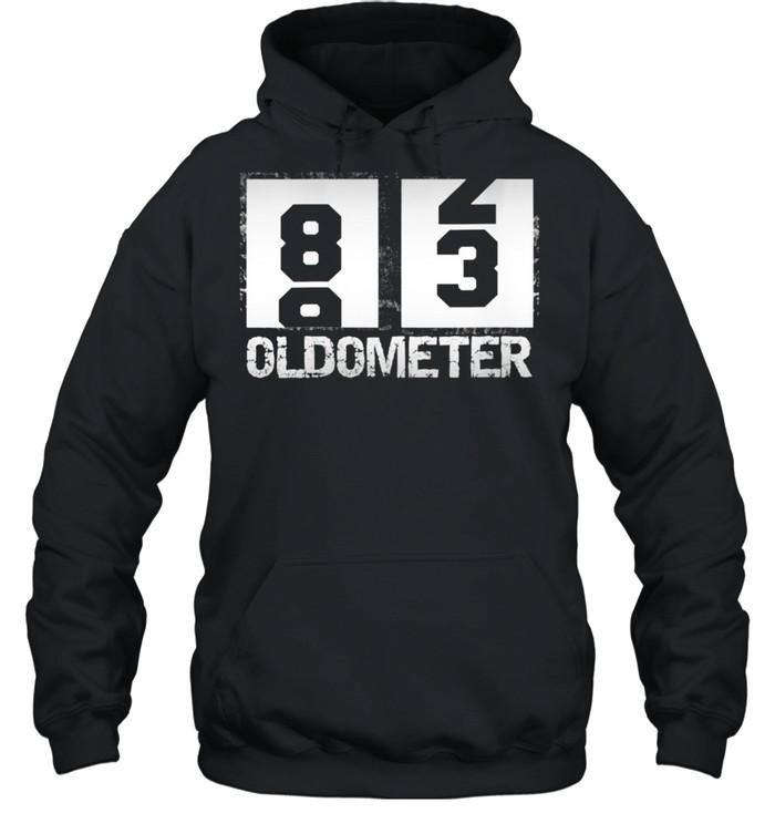 Oldometer 8283 83rd Birthday  Unisex Hoodie