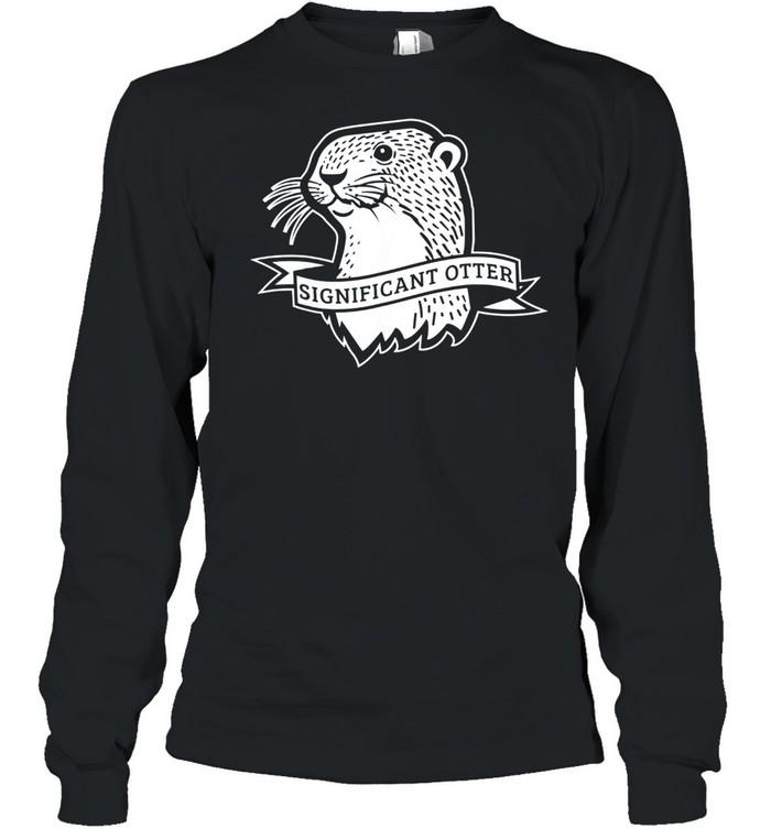 Otter  Long Sleeved T-shirt