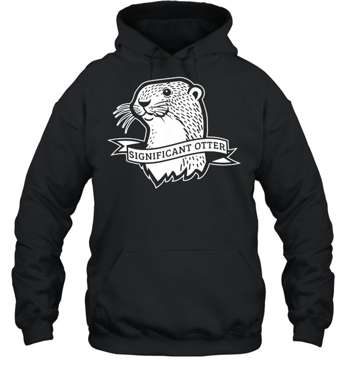 Otter  Unisex Hoodie