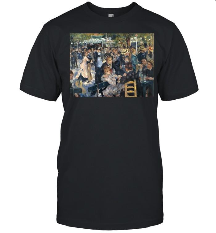 PierreAugust Renoir's Bal du moulin de la Galette  Classic Men's T-shirt