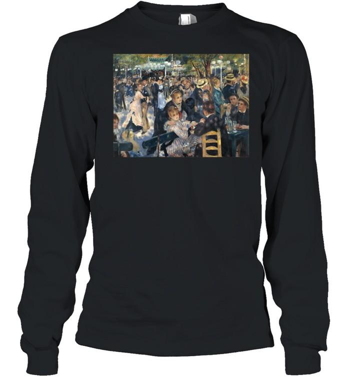 PierreAugust Renoir's Bal du moulin de la Galette  Long Sleeved T-shirt