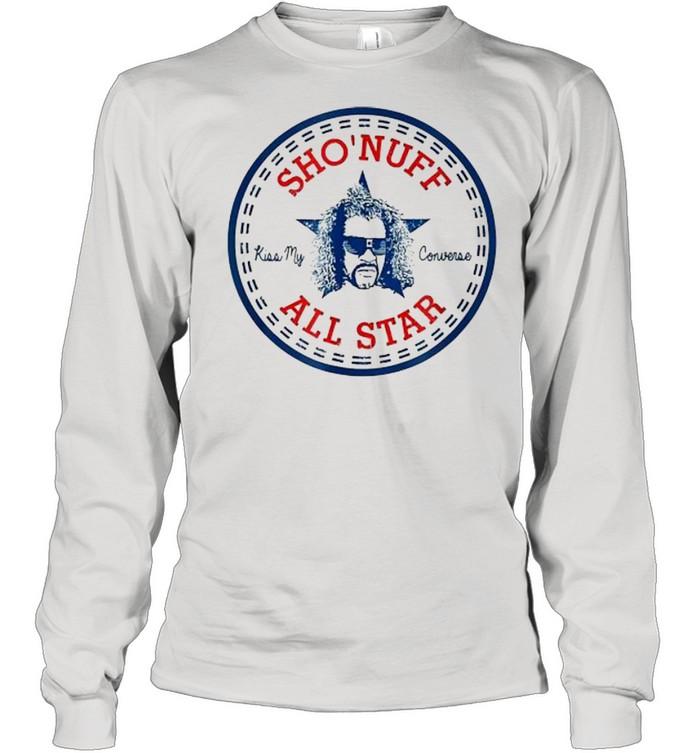 Sho Nuff All Star Logo  Long Sleeved T-shirt
