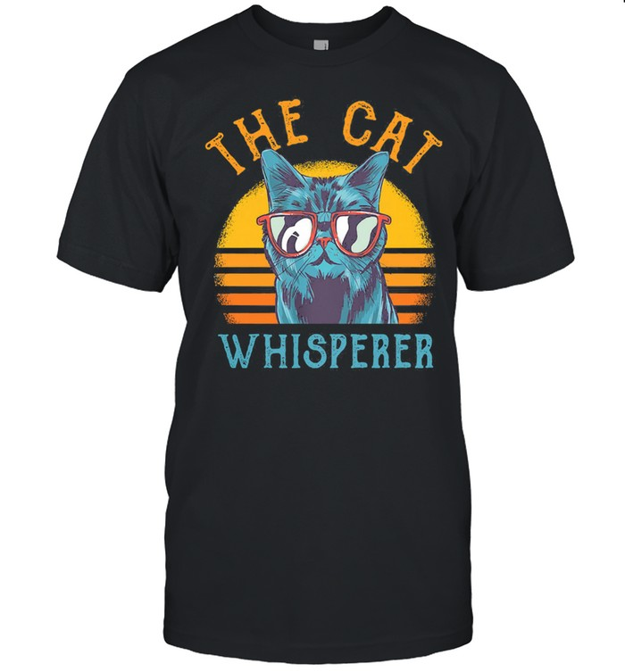 The Cat whisperer vintage shirt Classic Men's T-shirt