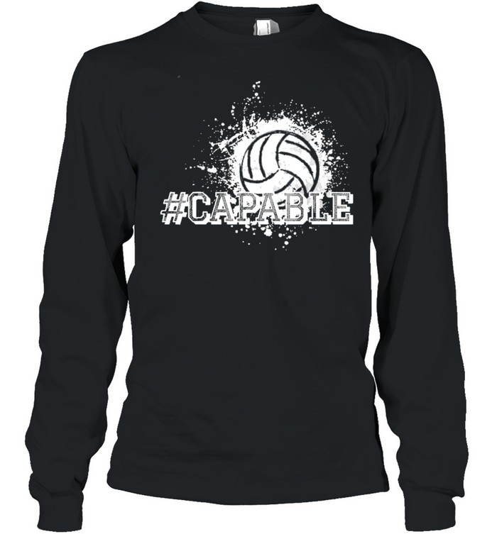 Volleyball capable shirt Long Sleeved T-shirt
