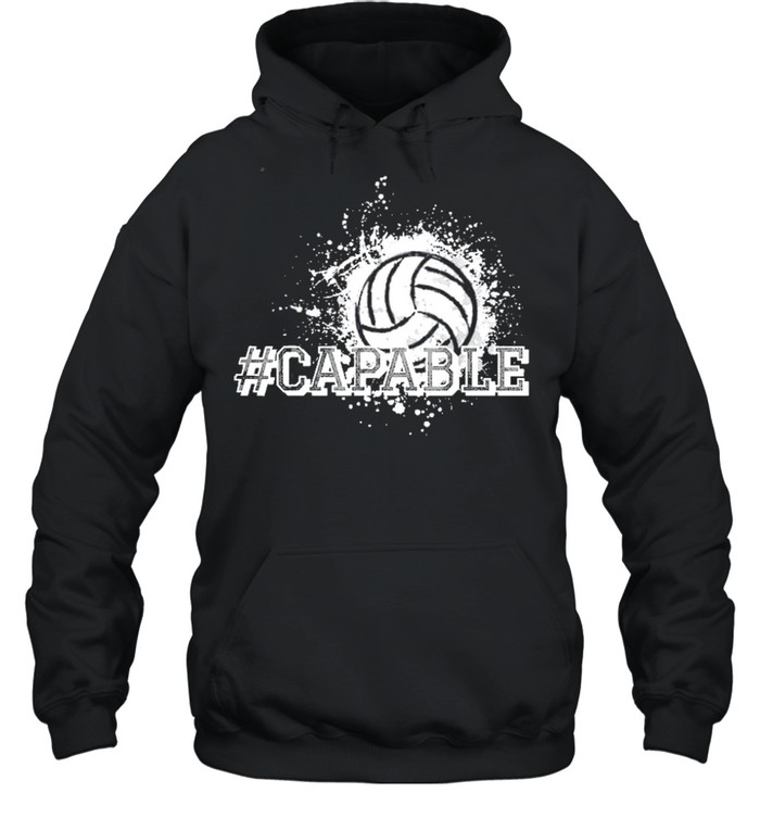 Volleyball capable shirt Unisex Hoodie
