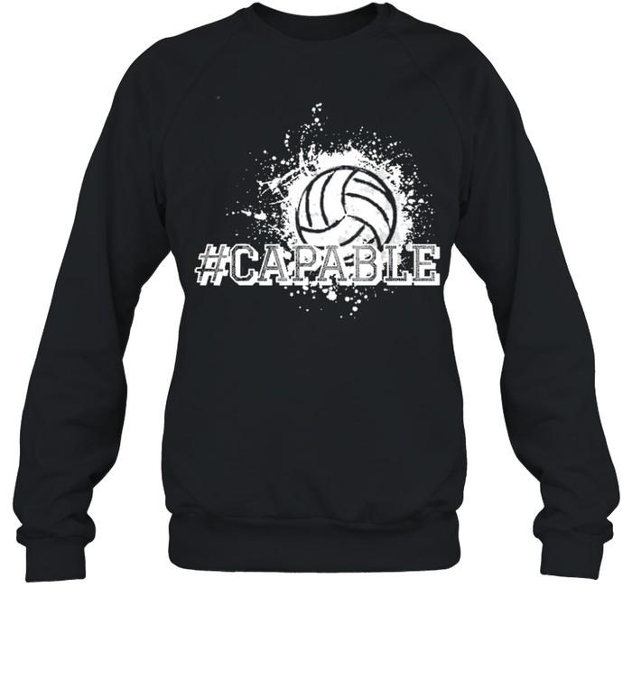 Volleyball capable shirt Unisex Sweatshirt