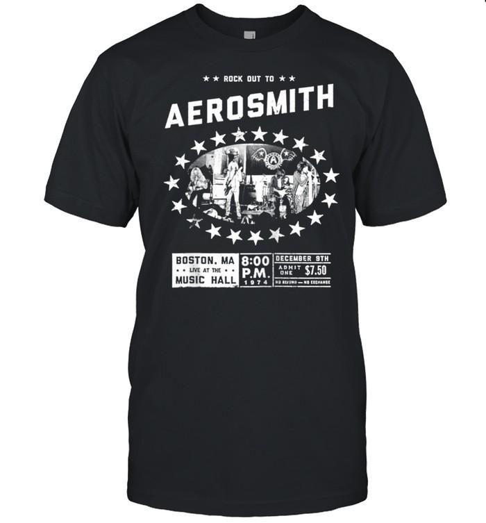 Aerosmith Live at the Music Hall shirt Classic Men's T-shirt
