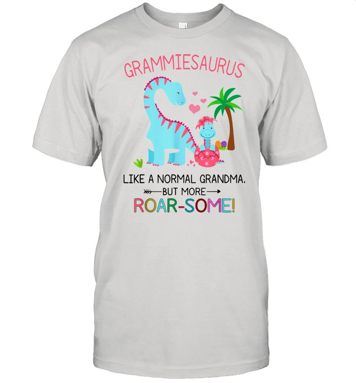 Grammiesaurus Like A Normal Grandma But More RoarSome shirt Classic Men's T-shirt