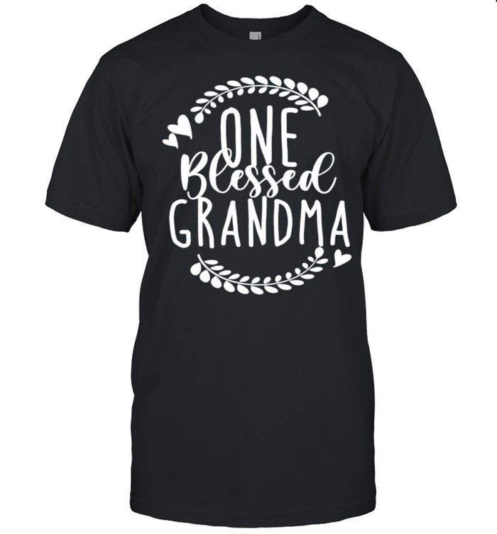 One Blessed Grandma shirt Classic Men's T-shirt