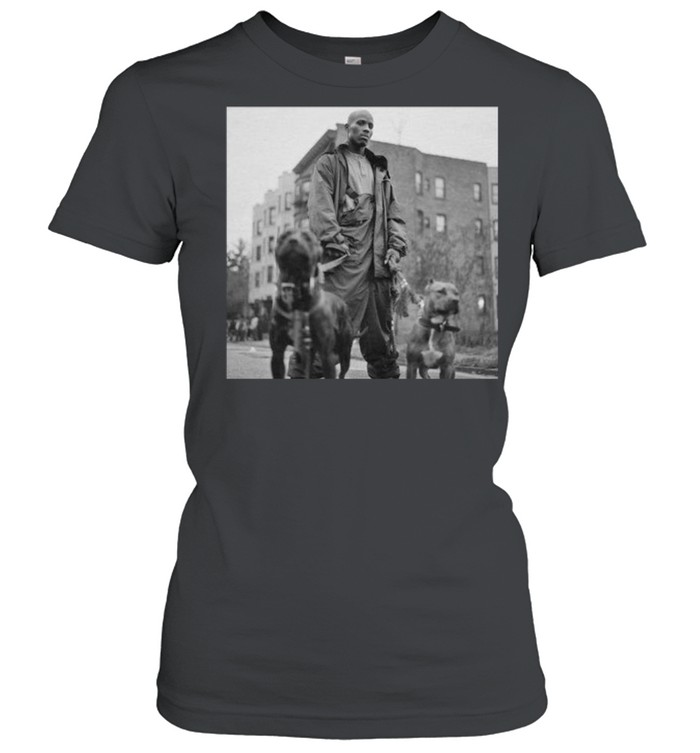 DMX Where My Dogs At shirt Classic Women's T-shirt