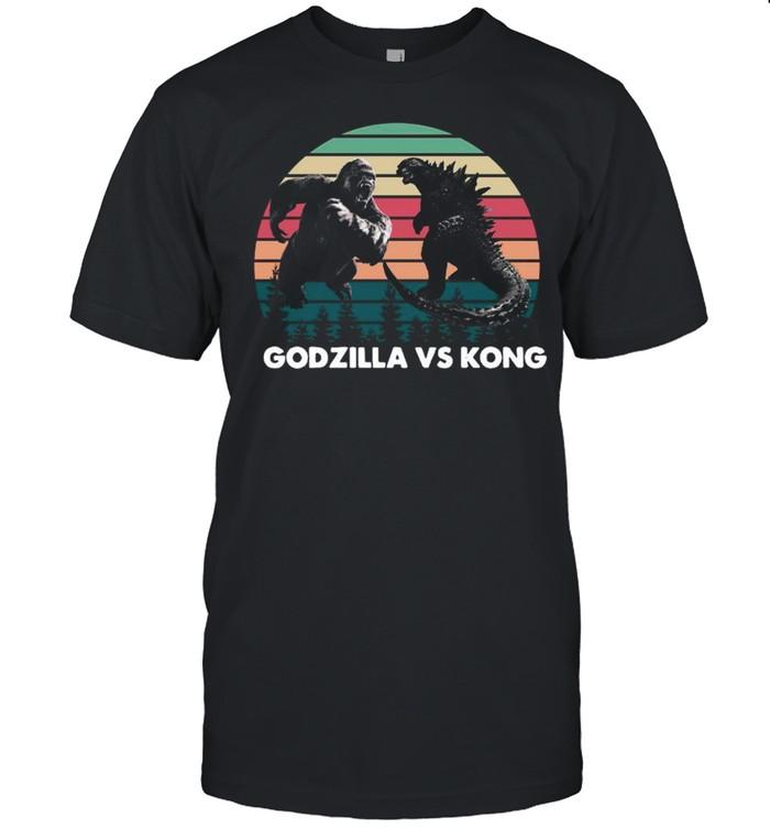 Godzilla vs Kong , Kaiju Godzilla Retro Kong  Rodan Mothra Monster, Godzilla shirt Classic Men's T-shirt