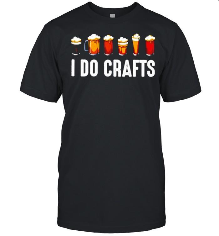Beer I Do Crafts  Classic Men's T-shirt