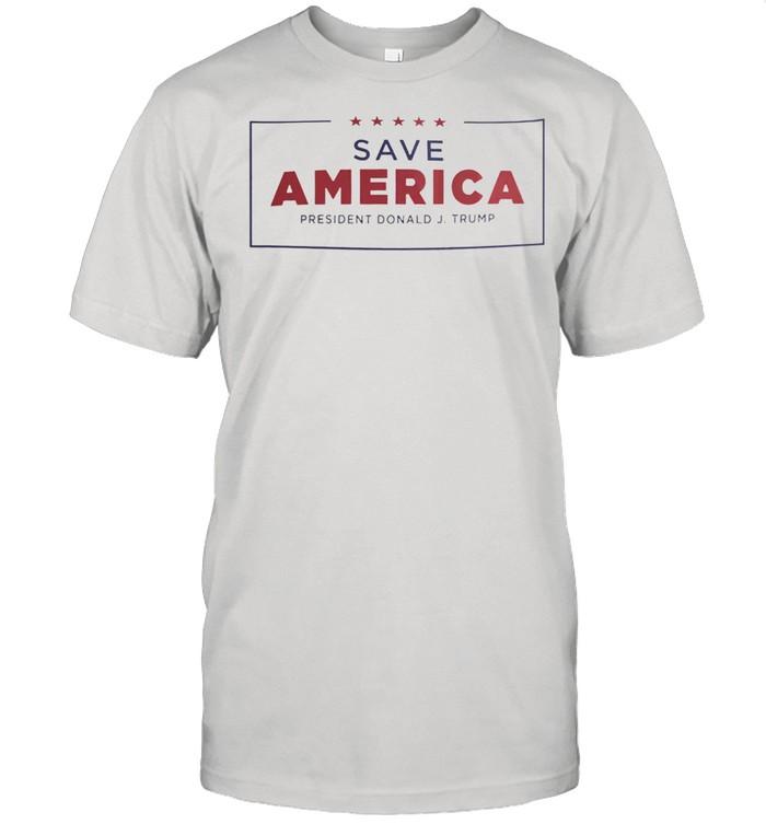 Save America president donald J trump shirt Classic Men's T-shirt