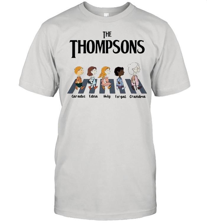 The Thompsons Caradoc Edna Holy Fergal Grandma abbey road shirt Classic Men's T-shirt