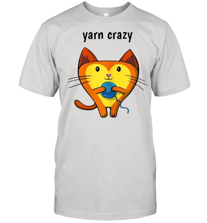 Cat Yarn Crazy  Classic Men's T-shirt
