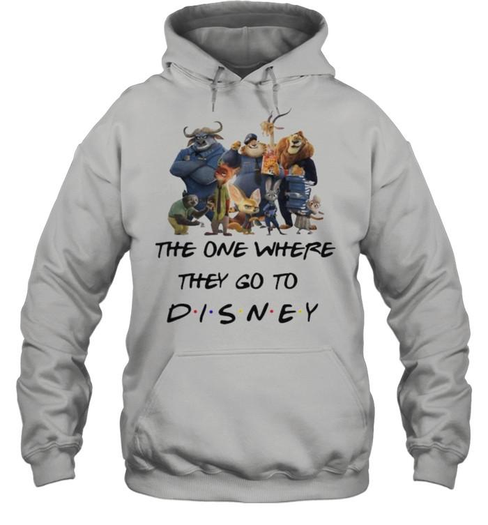 The One Where They Go To Disney Zootopia Movie Unisex Hoodie