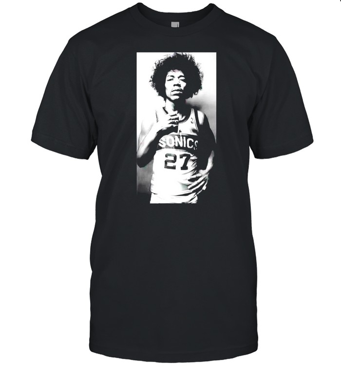 Jimi Hendrix Sonics shirt Classic Men's T-shirt