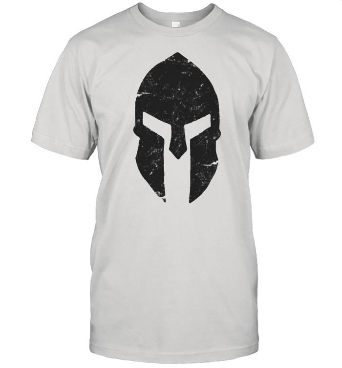 Spartan Helmet Gym Training Bodybuilding Workout shirt Classic Men's T-shirt