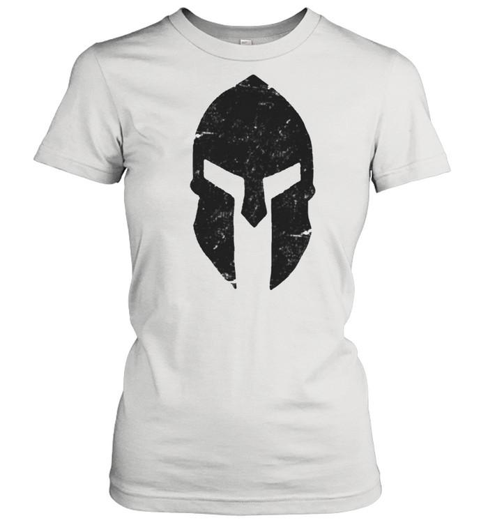 Spartan Helmet Gym Training Bodybuilding Workout shirt Classic Women's T-shirt
