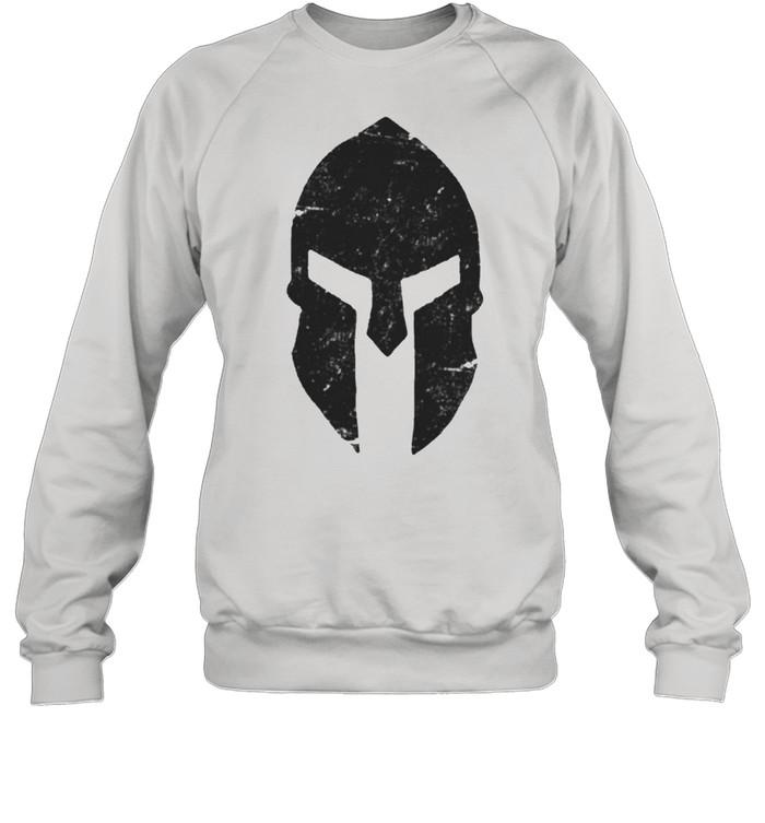 Spartan Helmet Gym Training Bodybuilding Workout shirt Unisex Sweatshirt