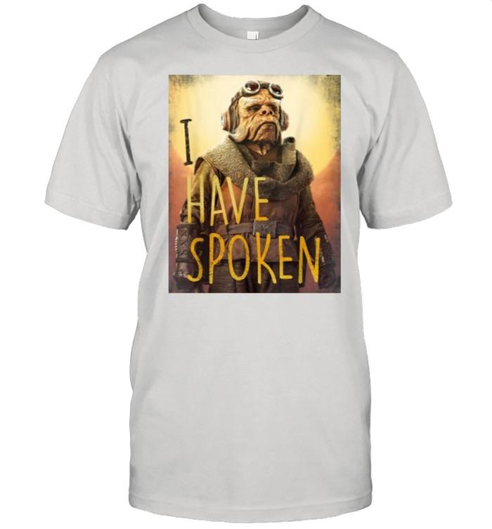 Star Wars The Mandalorian Have Spoken  Classic Men's T-shirt