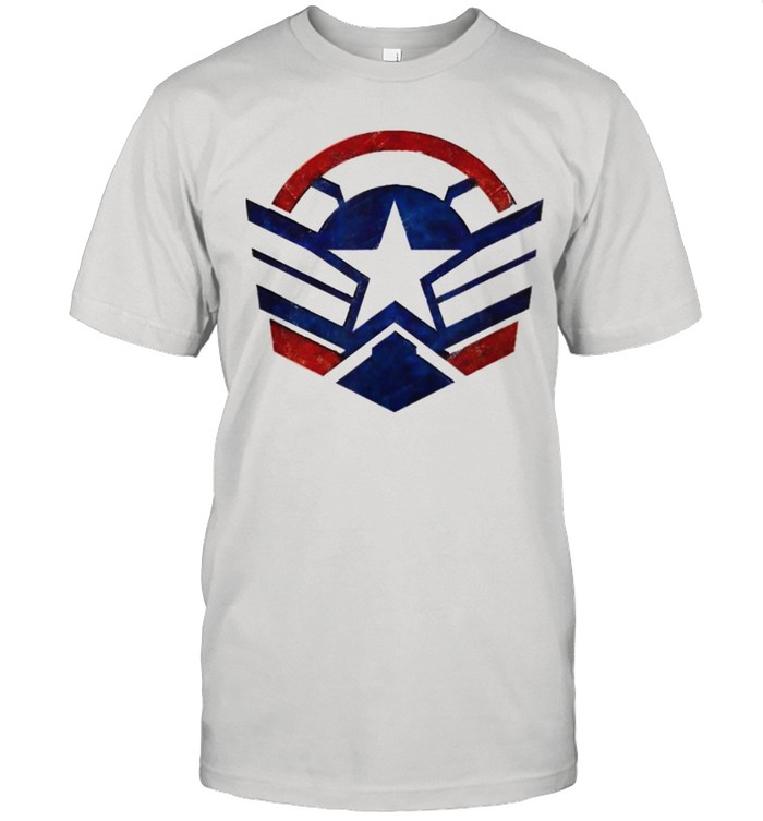 The Falcon and the Winter Soldier Captain America Star Icon  Classic Men's T-shirt