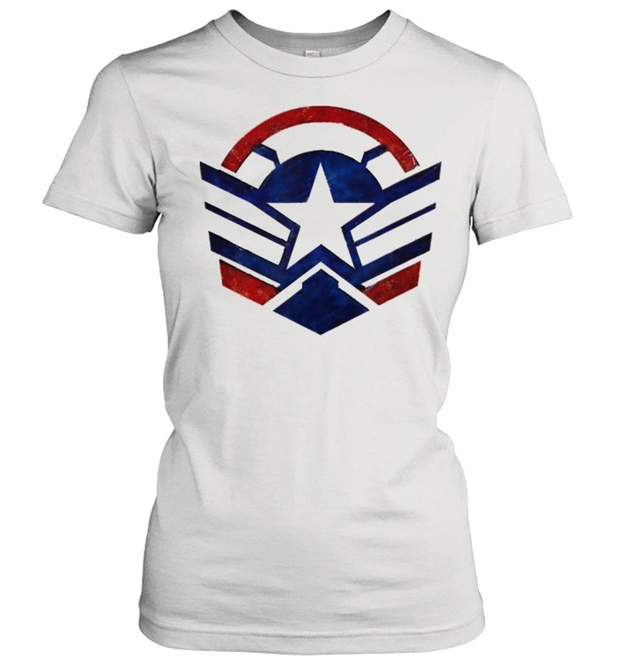 The Falcon and the Winter Soldier Captain America Star Icon  Classic Women's T-shirt