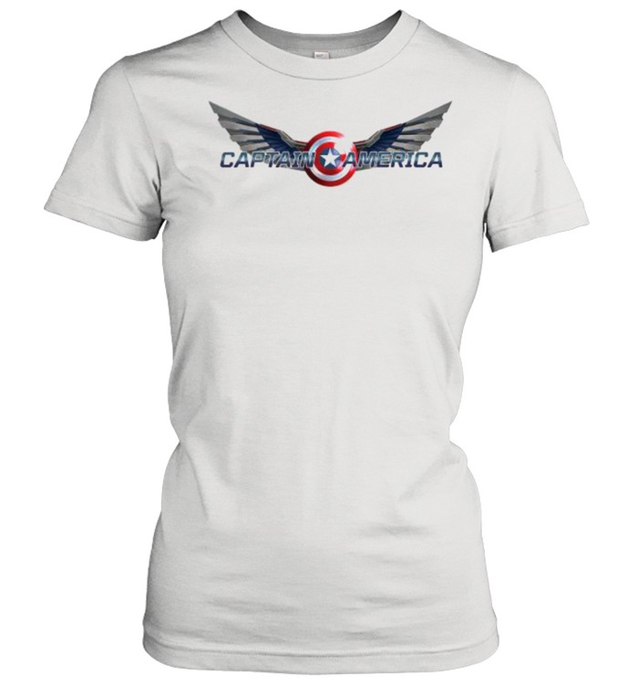 The Falcon and the Winter Soldier Captain America Wings  Classic Women's T-shirt