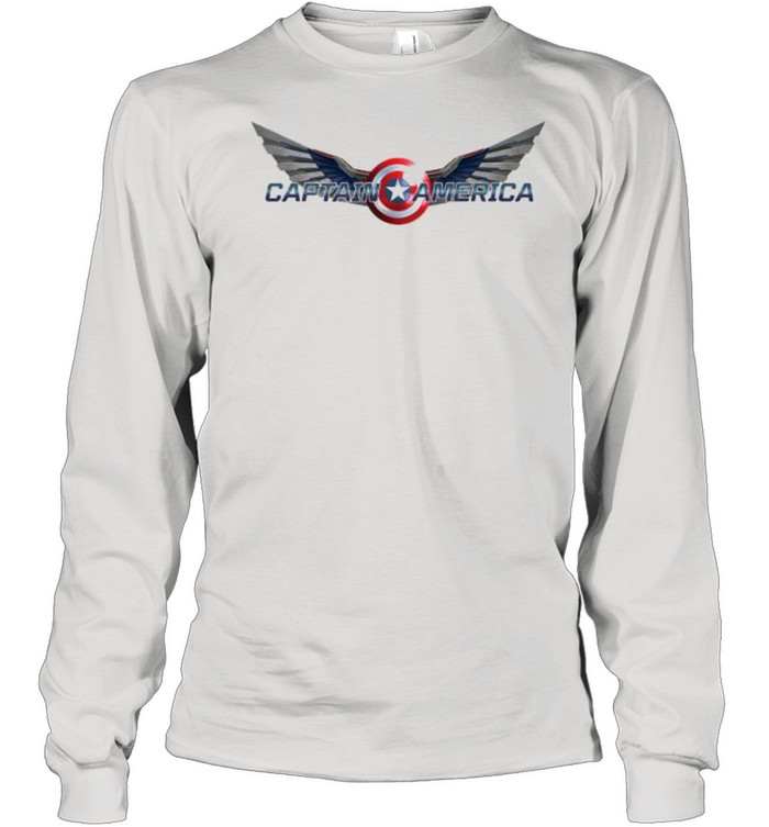 The Falcon and the Winter Soldier Captain America Wings  Long Sleeved T-shirt