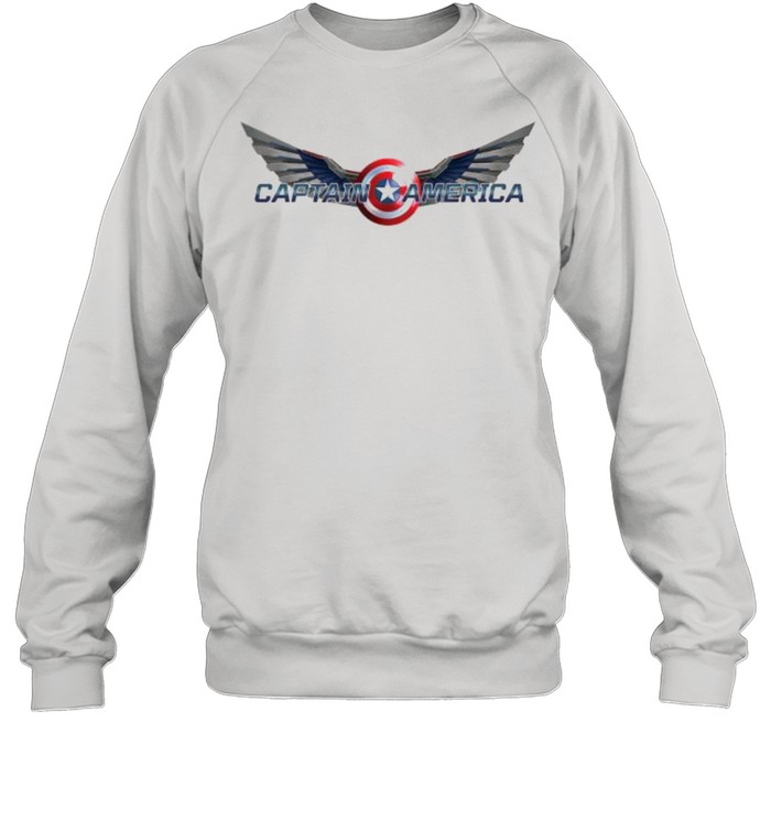 The Falcon and the Winter Soldier Captain America Wings  Unisex Sweatshirt