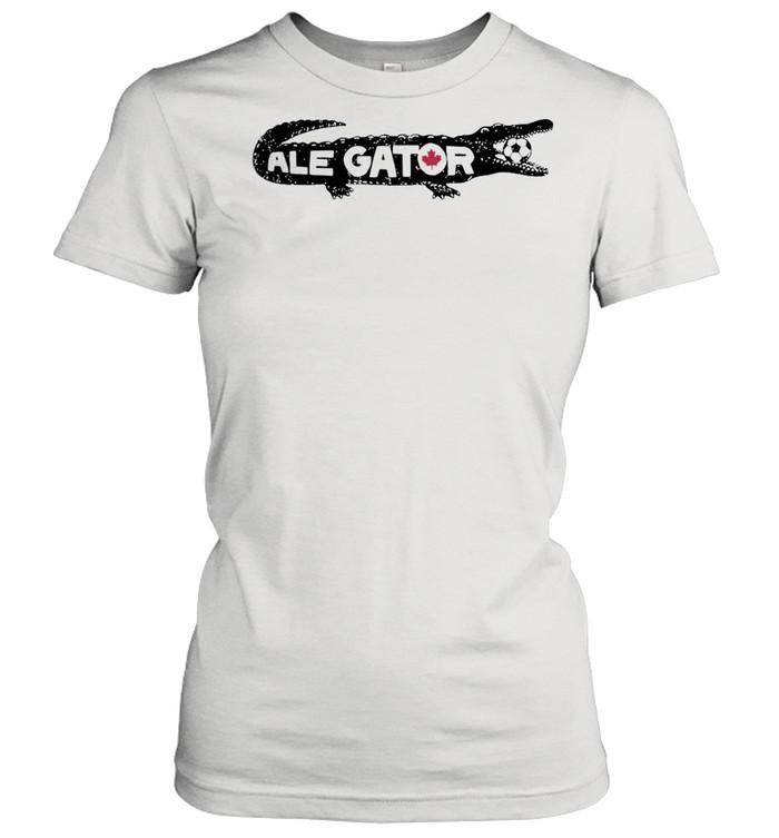 Toronto soccer ale gator shirt Classic Women's T-shirt