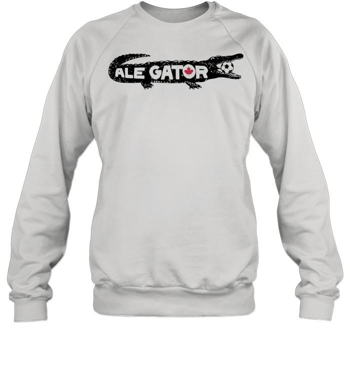 Toronto soccer ale gator shirt Unisex Sweatshirt