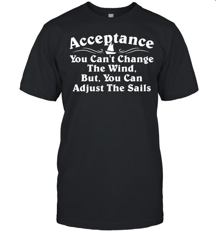 Acceptance & Change Alcoholics AA Narcotics NA Anonymous shirt Classic Men's T-shirt