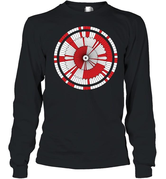Dare Mighty Things Mars Rover Perseverance Parachute Code T-shirt Long Sleeved T-shirt