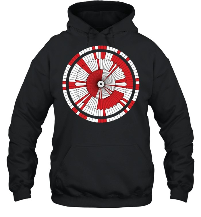 Dare Mighty Things Mars Rover Perseverance Parachute Code T-shirt Unisex Hoodie