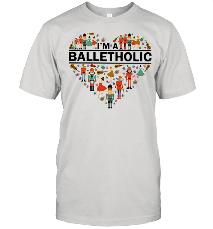 I'm a Balletholic Heart  Classic Men's T-shirt
