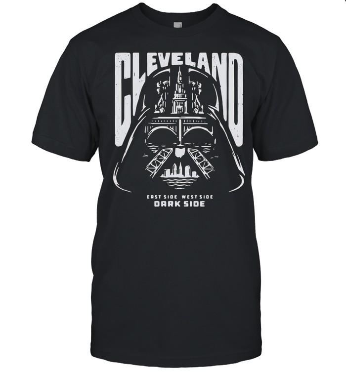 Cleveland East Side West Side Dark Side Star Wars  Classic Men's T-shirt