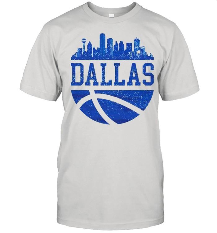 Dallas Texas City Ball Texas Lifestyle shirt Classic Men's T-shirt