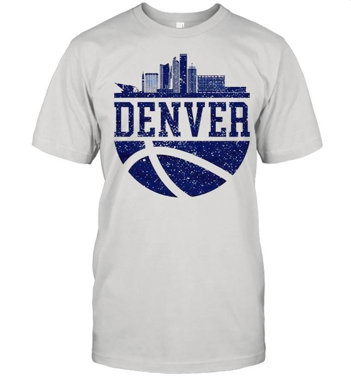 Denver Colorado City Ball Colorado Lifestyle shirt Classic Men's T-shirt
