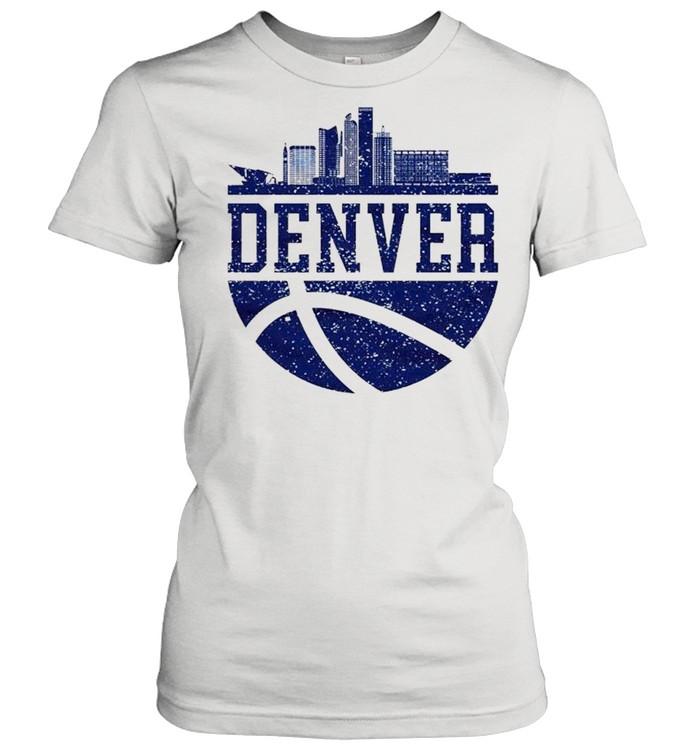 Denver Colorado City Ball Colorado Lifestyle shirt Classic Women's T-shirt
